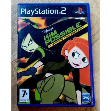 Disneys Kim Possible - Whats the Switch? - Playstation 2