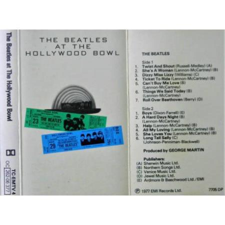 The Beatles at The Hollywood Bowl - Kassett