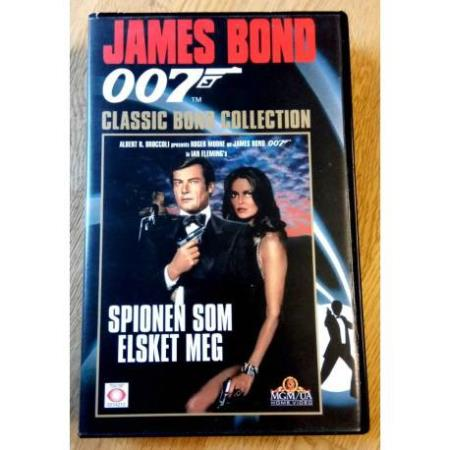 James Bond 007 - Spionen som elsket meg - VHS