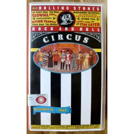 The Rolling Stones Rock And Roll Circus - VHS