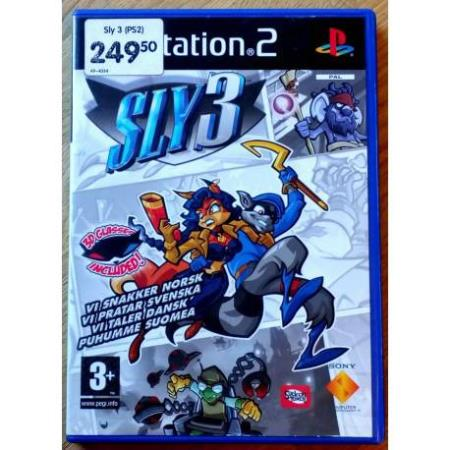 Sly 3 - Honour Among Thieves - Playstation 2