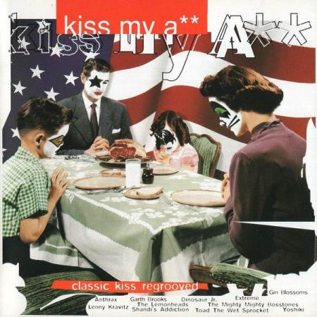 Kiss My A** - Classic Kiss Regrooved - CD - Anthrax