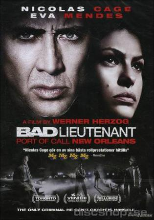BAD LIEUTENANT - PORT OF CALL NEW ORLEANS (2009) (DVD)