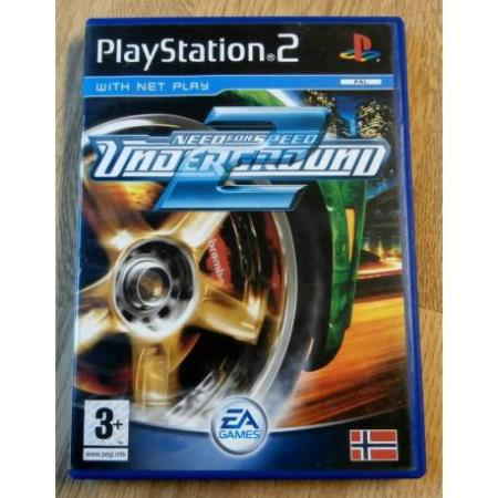 Need for Speed Underground 2 (EA Games) - Playstation 2