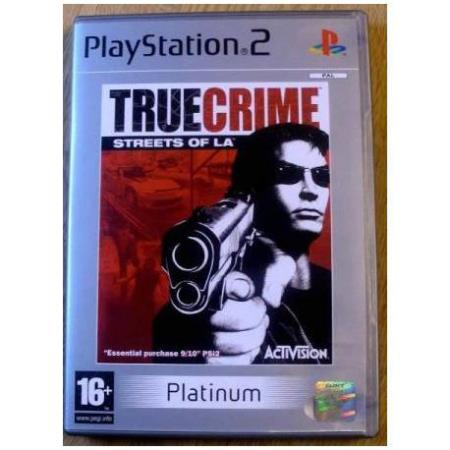 True Crime - Streets of LA (Activision) - Playstation 2