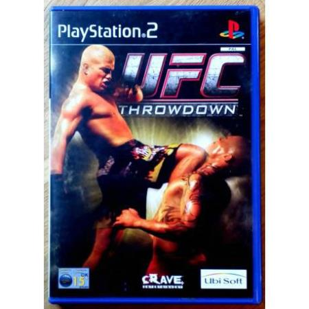 UFC Throwdown (Ubisoft) - Playstation 2