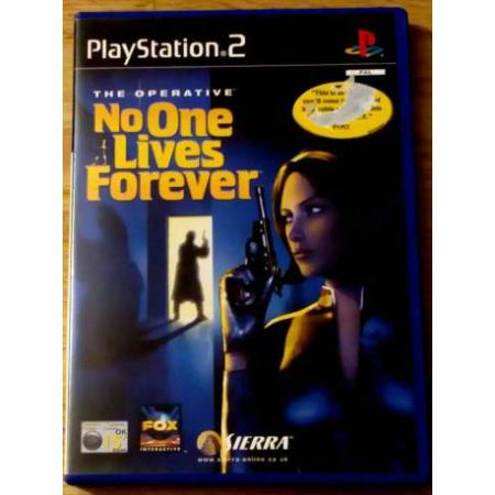 The Operative: No One Lives Forever (Sierra) - Playstation 2