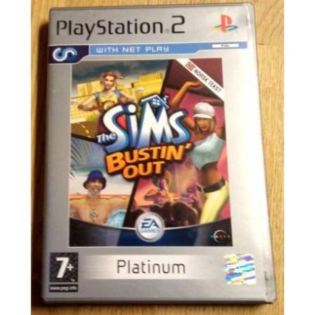 The Sims - Bustin Out (EA Games) - Playstation 2
