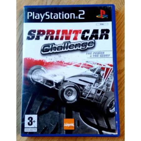Sprint Car Challenge - The Power & The Glory - PS2