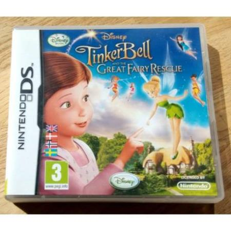 Tinkerbell and the Great Fairy Rescue (Disney) - Nintendo DS
