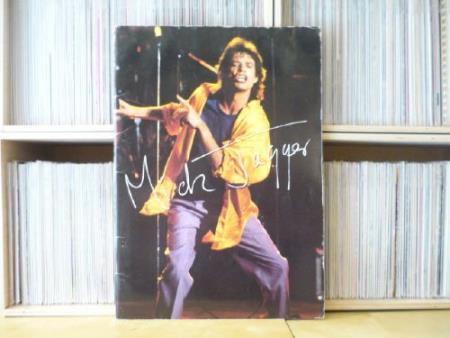 MICK JAGGER / ROLLING STONES In Japan tour-book