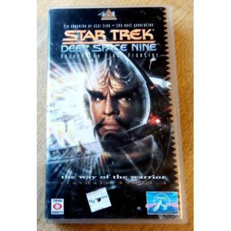 Star Trek - Deep Space Nine - The Way of the Warrior - VHS