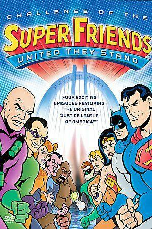 CHALLENGE OF THE SUPER FRIENDS - UNITED THEY STAND (DVD)