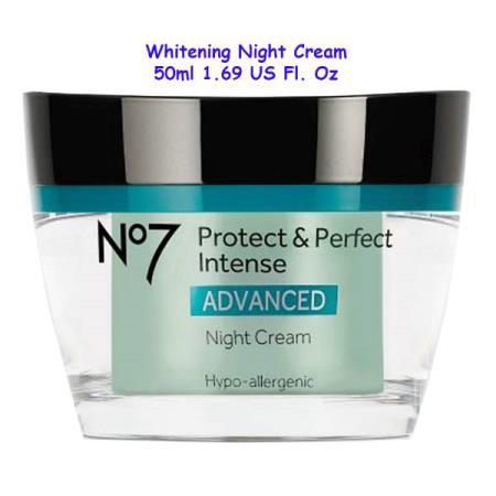 BOOTS No7 PROTECT & PERFECT ADVANCED WHITENING NIGTH CREAM