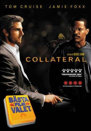 COLLATERAL (2005) (TOM CRUISE) (THRILLER) (DVD)