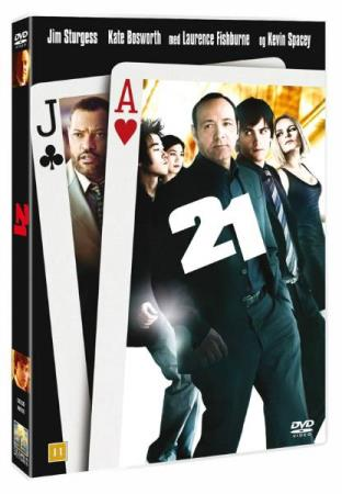21 (2008) (KEVIN SPACEY) (ACTION DRAMA) (DVD)