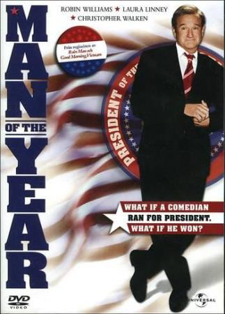 MAN OF THE YEAR (2006) (COMEDY) (DVD)