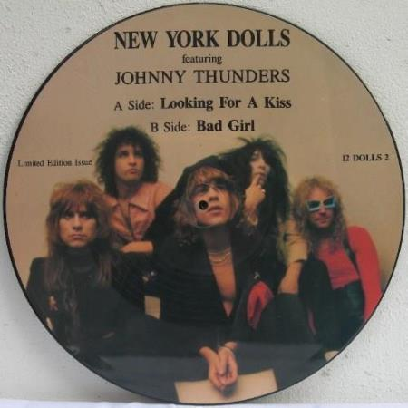 """NEW YORK DOLLS Looking For A Kiss 12"""" pic-disc"""
