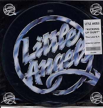"""LITTLE ANGELS Kicking Up Dust UK 12"""" pic-disc"""