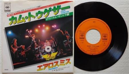 AEROSMITH Come Together / Kings And Queens Japan 7""