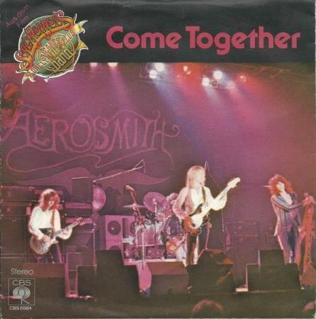 AEROSMITH Come Together / Kings And Queens German 7""