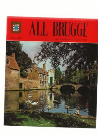 All BRUGGE English 149 Colour Photographs 1987 , heftet som