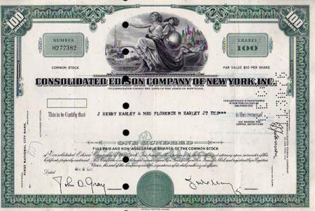 USA- CONSOLIDATED EDISON COMPANY OF  NEW YORK-  1969