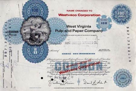 USA-WEST VIRGINIA PULP AND PAPER COMPANY- 1969