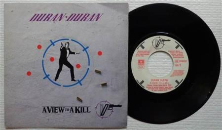 DURAN DURAN A View To A Kill 1985 Italian 7""