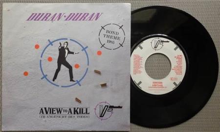 DURAN DURAN A View To A Kill 1985 Dutch 7""