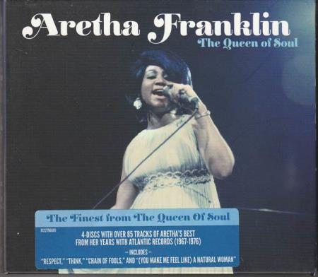 Aretha Franklin - The Queen Of Soul - 4CD