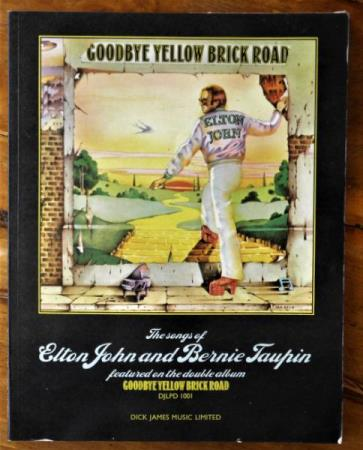 Elton John- Goodbye Yellow Brick Road- Notebok