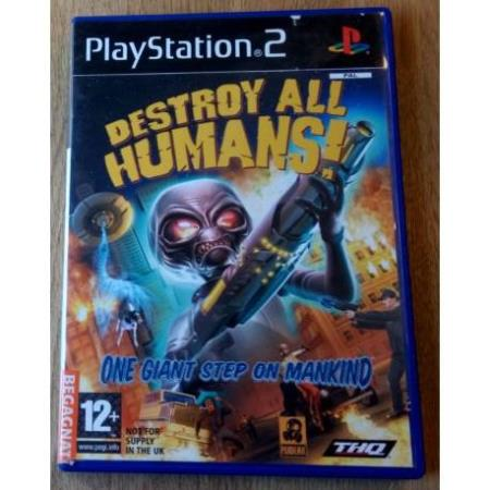 Destroy All Humans - One Giant Step On Mankind (THQ) - PS2