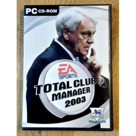 Total Club Manager 2003 (EA Sports) - PC