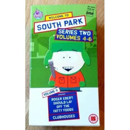 South Park: Sesong 2 - Volumes 4-6 (VHS)