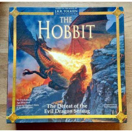 The Hobbit - The Defeat of the Evil Dragon Smaug Brettspill