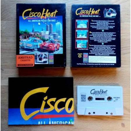 Cisco Heat - All American Police Car Race - Amstrad