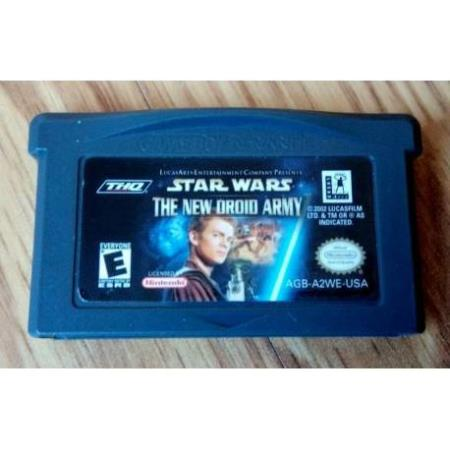 Star Wars - The New Droid Army (THQ) - GameBoy Advance