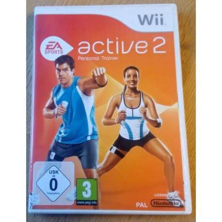 Active 2 - Personal Trainer (EA Sports) - Nintendo Wii