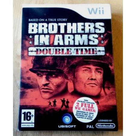 Brothers in Arms Double Time (Ubisoft) - Nintendo Wii