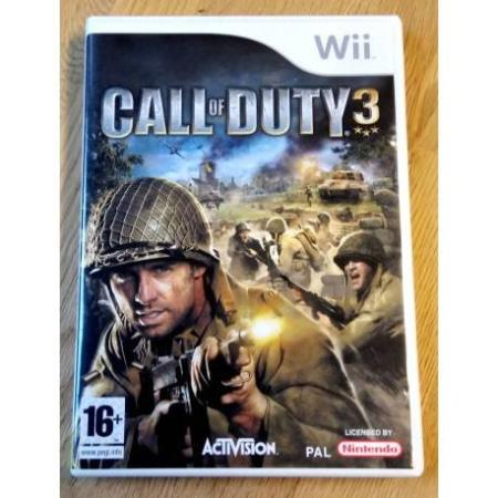 Call of Duty 3 (Activision) - Nintendo Wii