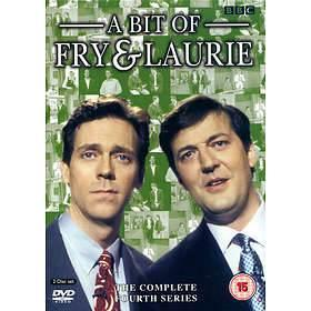 A BIT OF FRY & LAURIE - COMPLETE FOURTH SERIES (DVD)