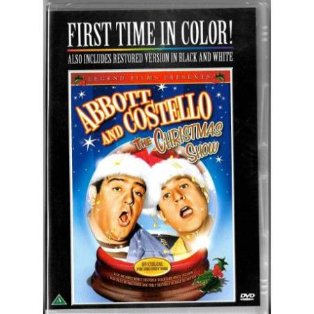 Abbott and Costello - The Christmas Show - DVD