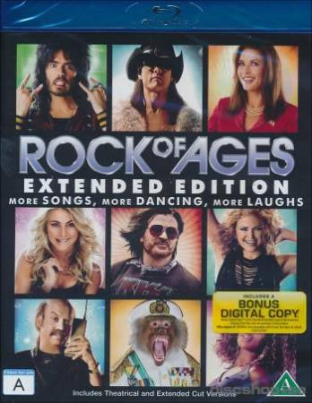 ROCK OF AGES (2012) (MUSICAL) (BLU-RAY)