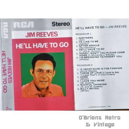 Jim Reeves - Hell have to go - Kassett