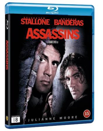 ASSASSINS (1995) (SYLVESTER STALLONE) (ACTION) (BLU-RAY)