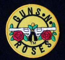 Guns N Roses (rund) - patch