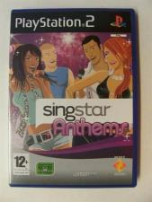 Singstar: Anthems (PS2 - EX)