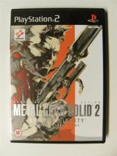 Metal Gear Solid 2: Sons of Liberty (PS2 - EX)