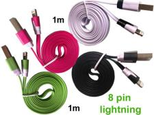 4 stk. USB kabel / lader til iPhone 5S/SE/6/6S/6 Plus/7 etc